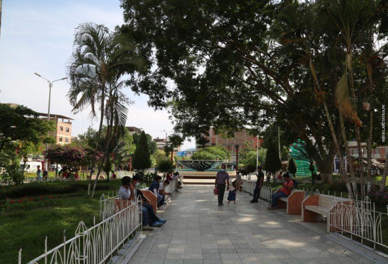 PLAZA DE ARMAS DE JAÉN, CAJAMARCA